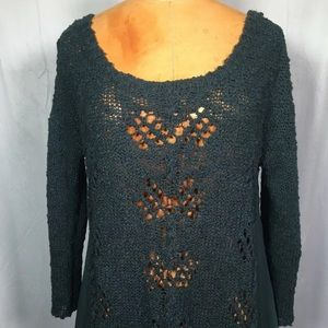 Knitted and Knotted Anthropologie Sweater